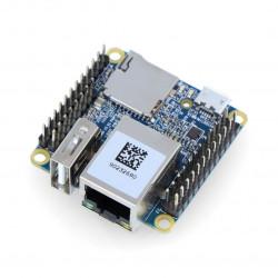 NanoPi NEO v1.4 - Allwinner H3 Quad-Core 1,2GHz + 256MB RAM - ze złączami
