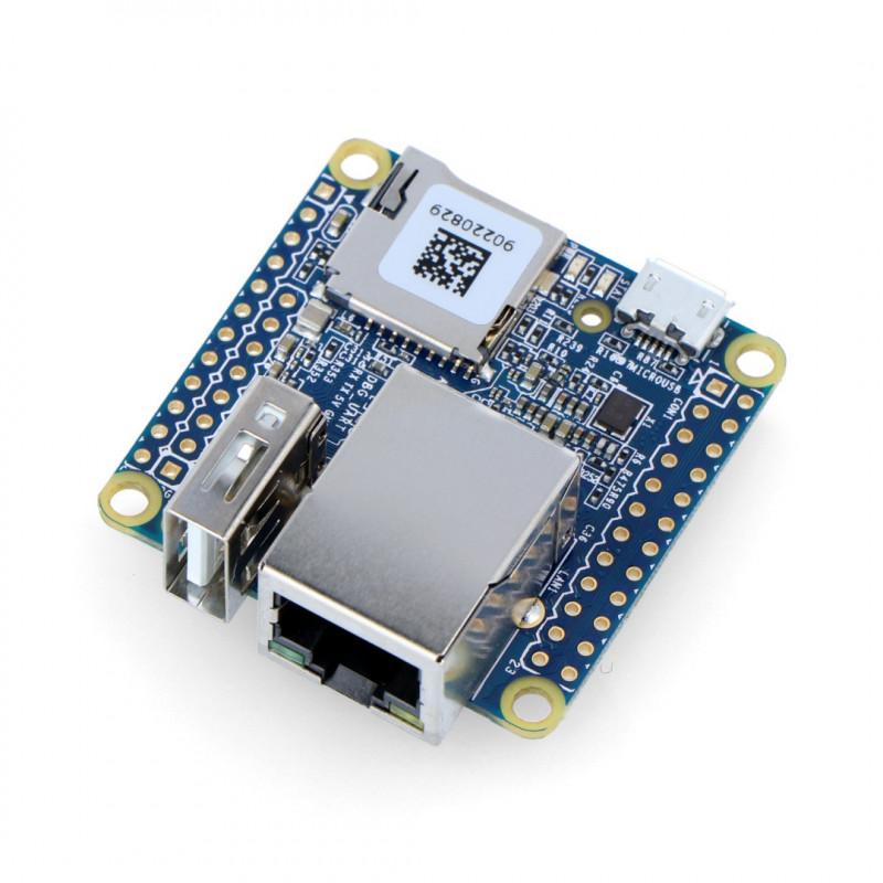 NanoPi NEO v1.4 - Allwinner H3 Quad-Core 1,2GHz + 512MB RAM - without connectors