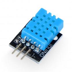 Czujnik temperatury i wilgotności DHT11 - moduł Waveshare