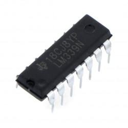 Komparator analogowy LM339 - THT