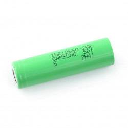 Ogniwo 18650 Li-Ion Samsung INR18650-25R 2500mAh