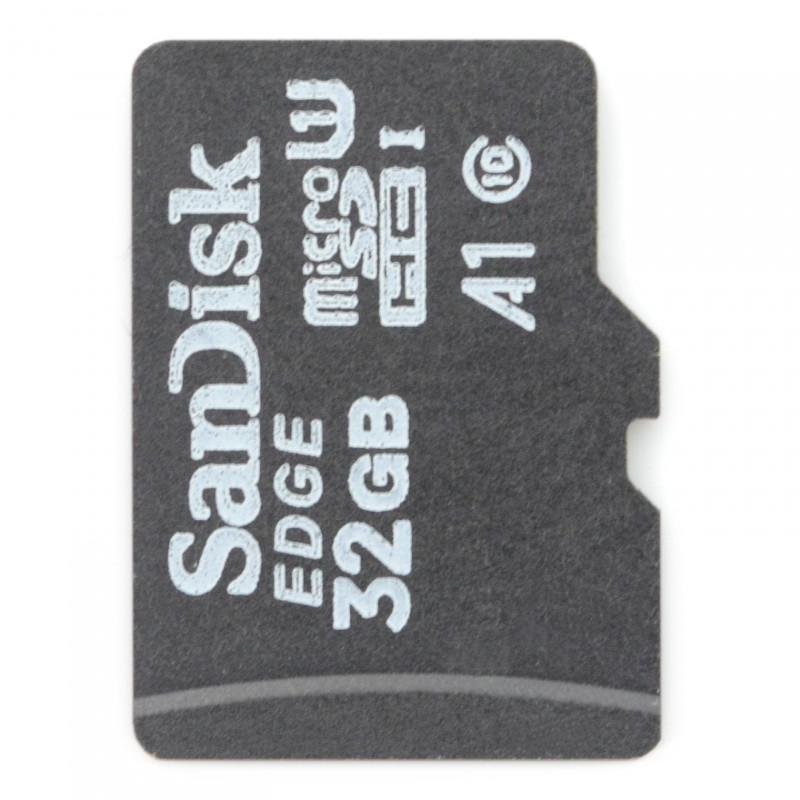 SanDisk memory card microSD 32GB class 10 + system NOOBs for Raspberry Pi 4B/3B+/3B/2B*