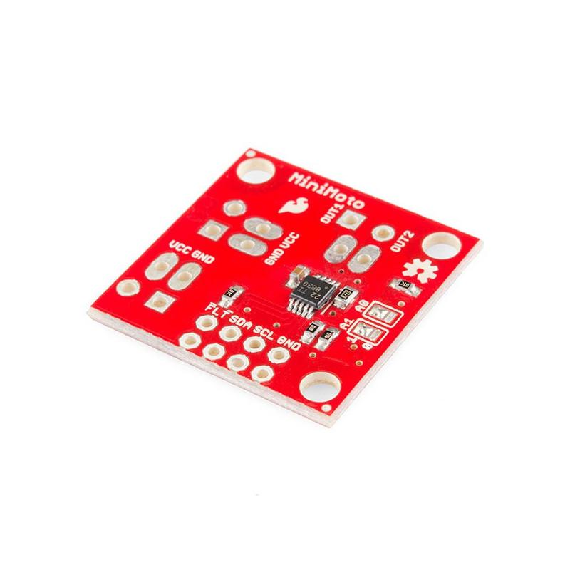 SparkFun MiniMoto DRV8830 motor controller - I2C 6.8V / 1A