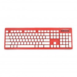 Waterproof keyboard USB Singapure Esperanza - red
