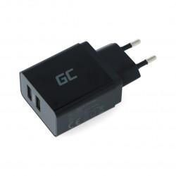 Zasilacz Green Cell 5V/2,4 A - 2x USB