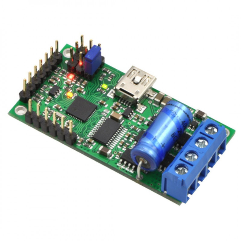 Pololu Simple High-Power 18v15 - USB 30V / 15A motor driver - assembled