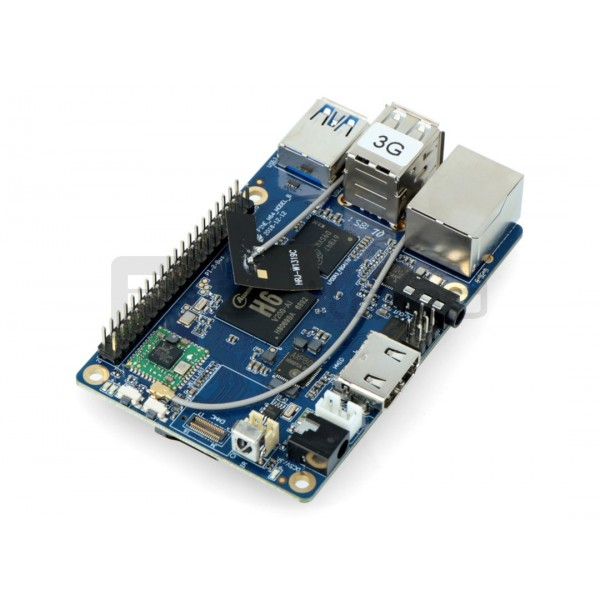 Pine64 H64 Model B WiFi Bluetooth - Allwinner H6 Cortex A53 Quad-Core + 3GB  RAM