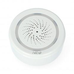 WiFi Smart Device- Syrena alarmowa WiFi z czujnikiem temperatury i wilgotności Neo