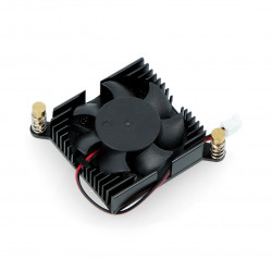 Heatsink with fan for Pine64 ROCKPro64 - low profile