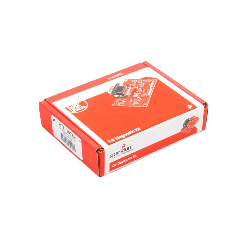 OBD II diagnostic module - Car Diagnostics KIT - SparkFun RTL-10769_