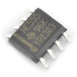 NE555 uniwersalny układ czasowy - SMD