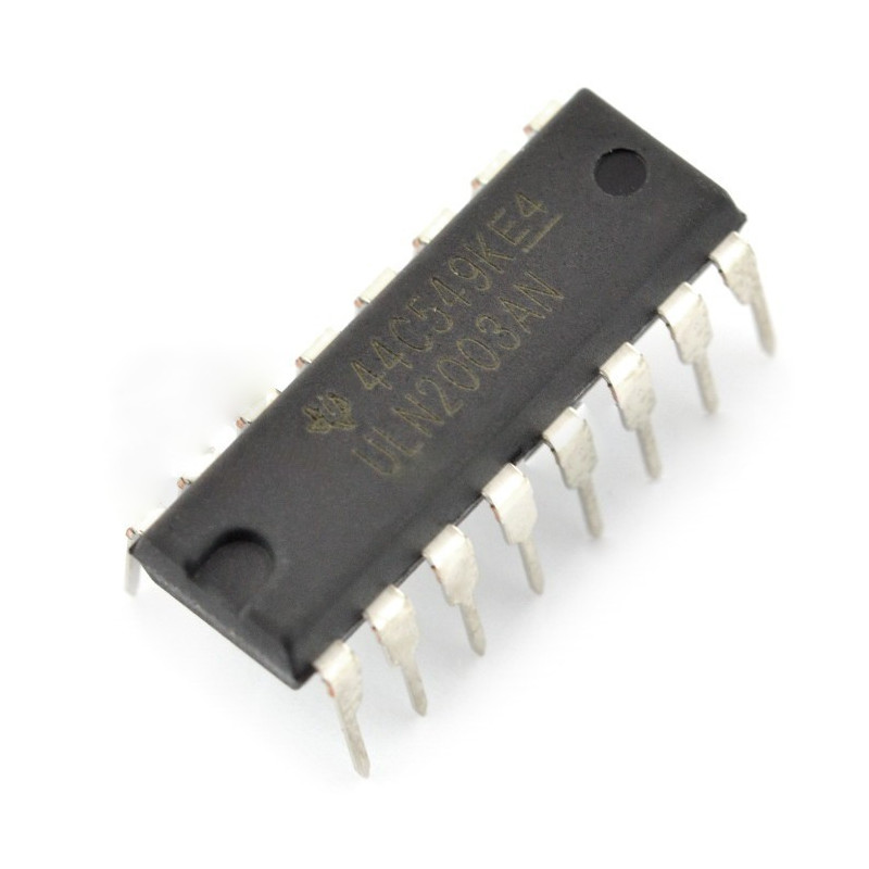 Integrated circuit ULN2003AN 7xDarlington - THT_