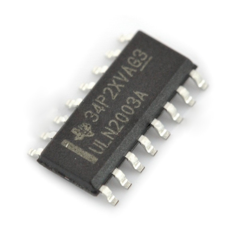 Integrated circuit ULN2003A 7xDarlington - SMD_
