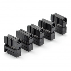 Gniazdo IDC 10 pin na taśmę - 5 szt.