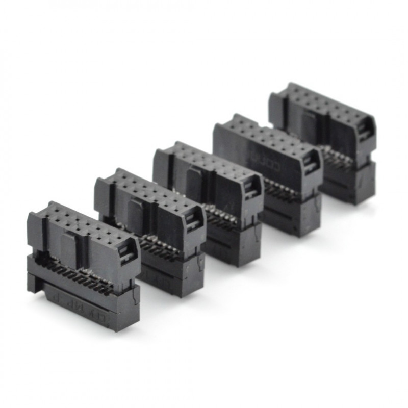 IDC 16 pin socket for tape - 5pcs*