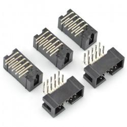 Wtyk IDC 10 pin kątowy - 5szt.