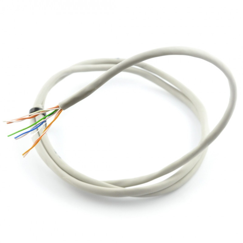 Twisted pair wire UTP Kat. 5e - 20m*