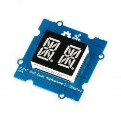 Grove - 0.54'' Red Dual Alphanumeric Display
