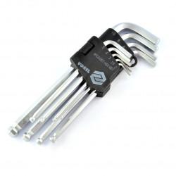 Zestaw kluczy imbusowych