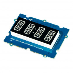 Grove - 0.54'' Red Quad Alphanumeric Display