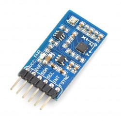 Waveshare IMU 10DoF - MPU9255 + BMP280 - 3-osiowy akcelerometr, żyroskop i magnetometr oraz barometr