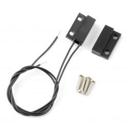 Czujnik magnetyczny - kontaktron CMD1423 + śrubki