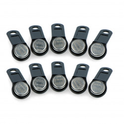 RFID pastylka S0990-BK - uchwyt czarny - 10szt.