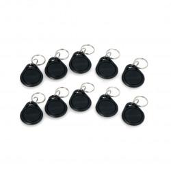 RFID keychain S103N-BK - 125kHz - black - 10pcs