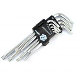 Zestaw kluczy TORX T15-T50