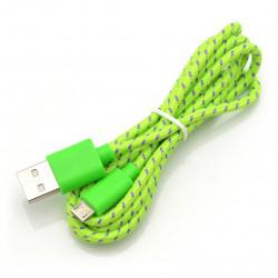 Esperanza USB-microUSB 2.0 EB175GP - braided 1m