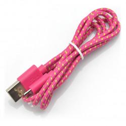 Esperanza USB-microUSB 2.0 EB175PG - braided 1m