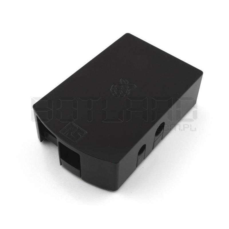 Obudowa Raspberry Pi Model B RS - czarna