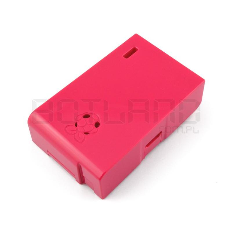 Obudowa Raspberry Pi Model B Multicomp Farnell - malinowa