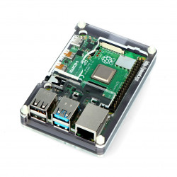 Obudowa do Raspberry Pi Model 4B Pibow Coupé 4 – Ninja