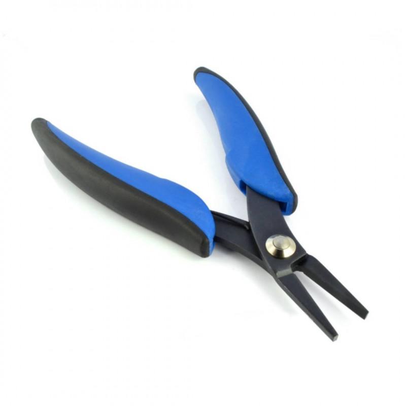 Flat pliers 130mm blue