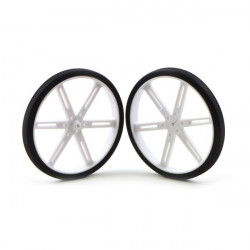 Pololu wheel 90x10mm - white