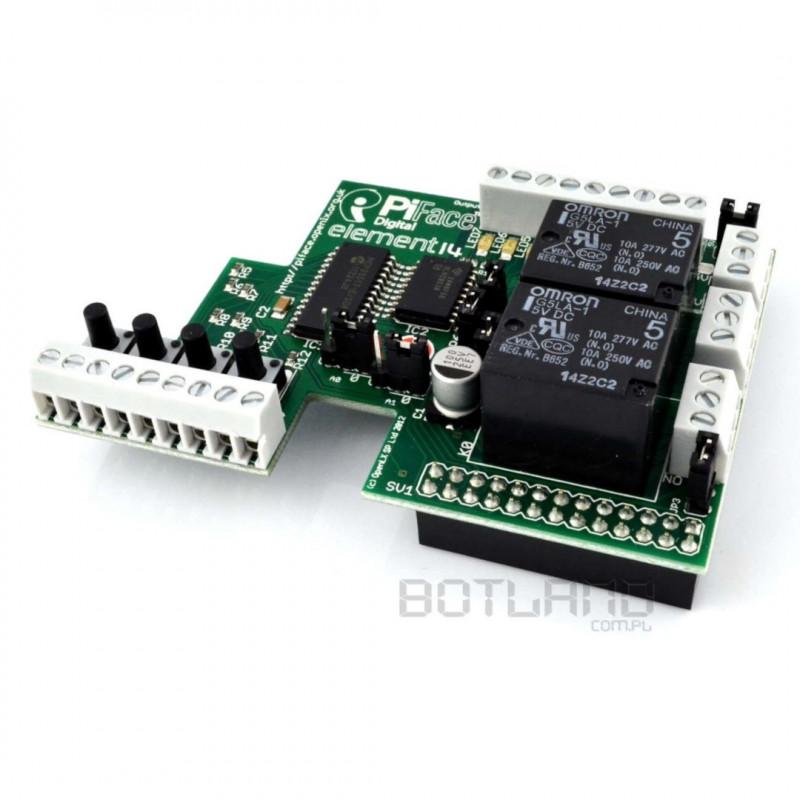 PiFace Digital - rozszerzenie do Raspberry Pi