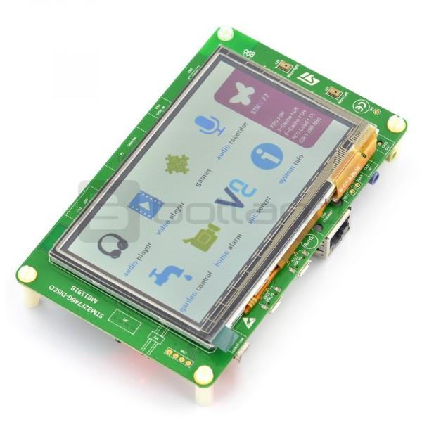 STM32F746G-Disco Discovery STM32F746NG - Cortex M7 + ekran dotykowy,  pojemnościowy 4,3''