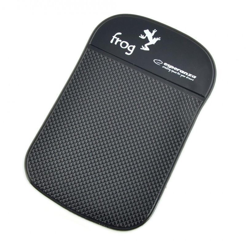 Podkładka silikonowa na telefon - Esperanza EF101K Frog Sticky