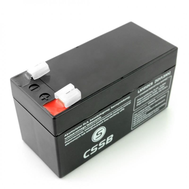 Akumulator żelowy 12V 1.2Ah CSSB