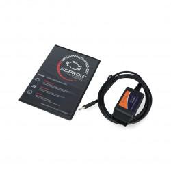 Zestaw diagnostyczny SDPROG + VGate ELM327 USB