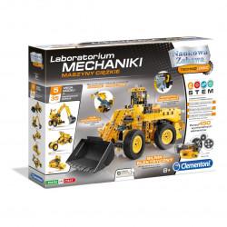 Zestaw konstrukcyjny Laboratorium Mechaniki - Maszyny ciężkie - Clementoni 60465