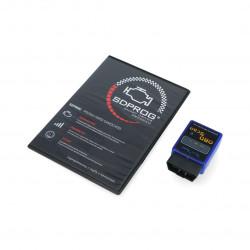 Zestaw diagnostyczny SDPROG + VGate Scan Bluetooth 3.0