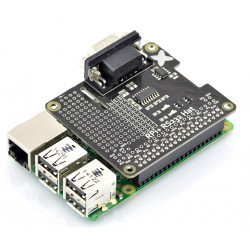 RS232 Hat for Raspberry Pi 3B/2B/B+