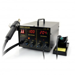 Soldering station Zhaoxin 852D with hot air
