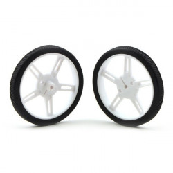 Pololu wheel 60x8mm - white