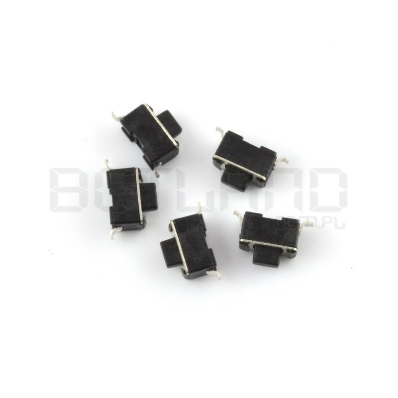 Tact Switch 3x6 5mm SMD - 5pcs.