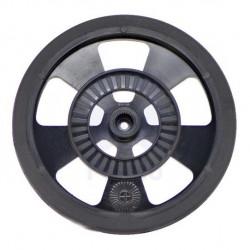 Wheels, servos, solarbotics - black
