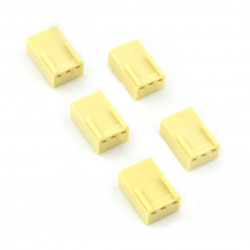 2,54 mm - socket 3-pin - 5 pcs