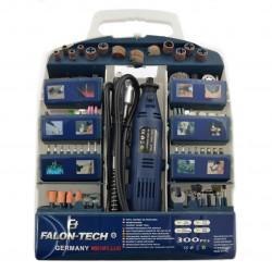 Miniwiertarka Falon Tech MG01 z akcesoriami - 320 elementów - uszkodzona obudowa